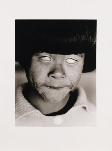 CHRISTER STRÖMHOLM | THE BLIND GIRL, HIROSHIMA, 1963