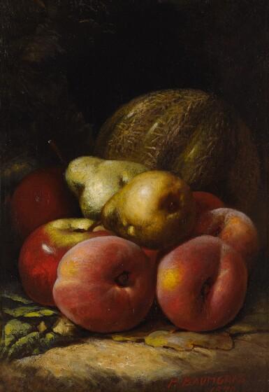 PETER BAUMGRAS | STILL LIFE WITH FRUIT