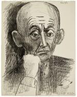 PABLO PICASSO | PORTRAIT DE D. H. KAHNWEILER II; AND PORTRAIT DE D. H. KAHNWEILER III (B. 835, 836; M. 296, 297)