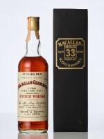 Macallan Glenlivet Gordon & MacPhail 33 Year Old 43.0 abv NV (1 BT75)