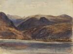 PAUL HUET | A mountainous landscape