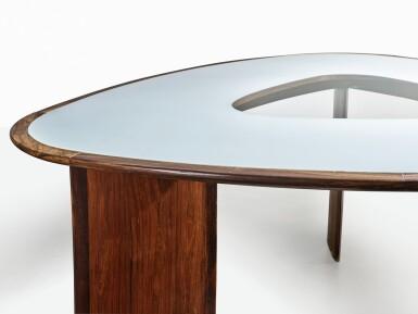 "View 3. Thumbnail of Lot 110. A Rare ""Mesa Triangular"" Table."