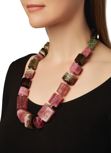 View 4. Thumbnail of Lot 80. TOURMALINE NECKLACE, PALOMA PICASSO FOR TIFFANY & CO..
