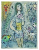 MARC CHAGALL | THE CIRCUS  (M. 490-527; SEE C. BKS. 68)