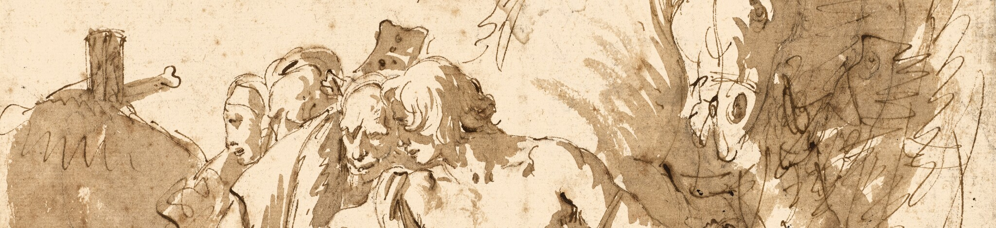 From Taddeo to Tiepolo: The Dr. John O'Brien Collection of Old Master Drawings