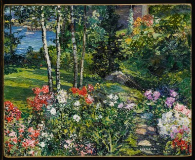 View 2. Thumbnail of Lot 15. Garden, Boothbay Harbor, Maine .