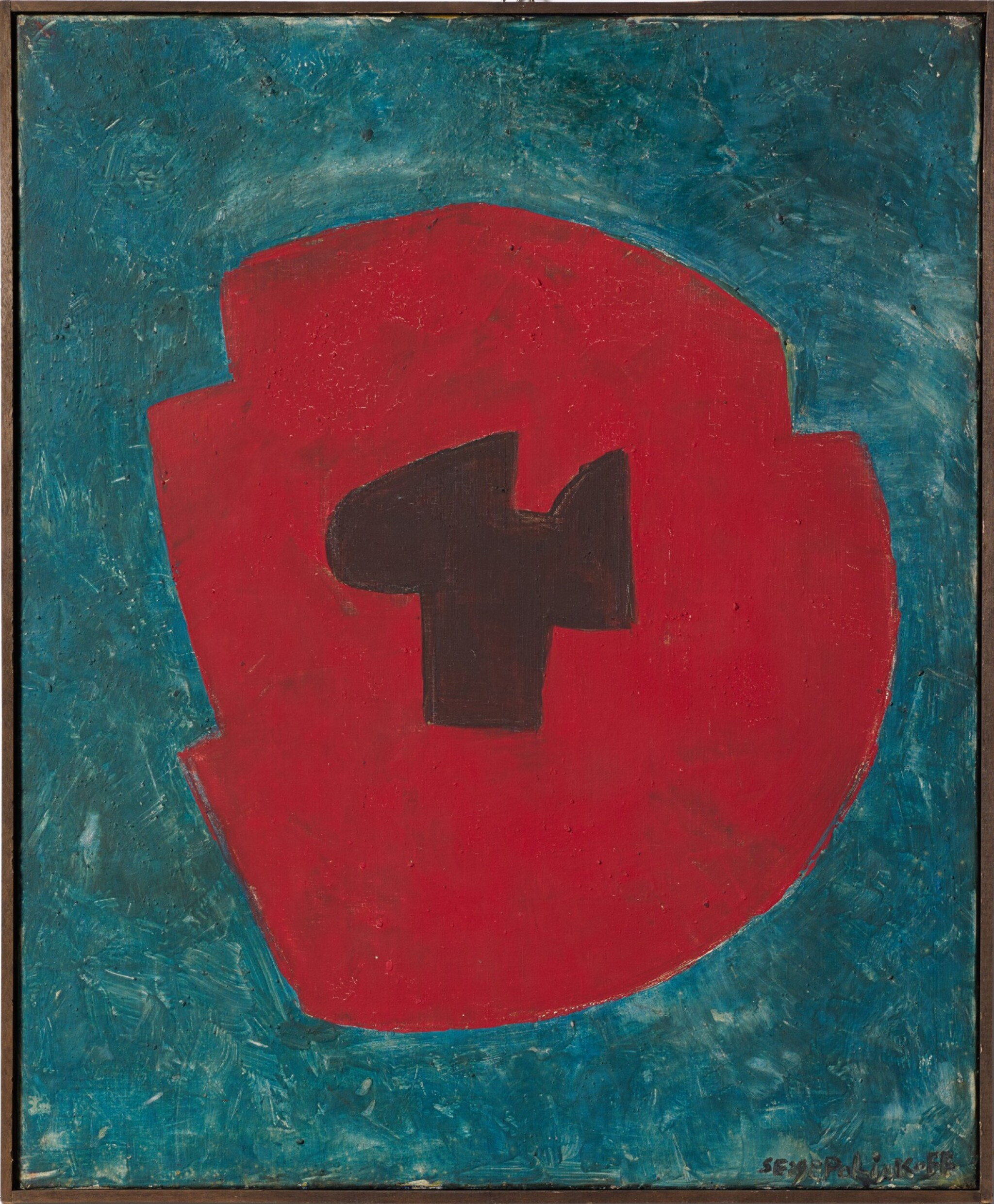 View full screen - View 1 of Lot 44. SERGE POLIAKOFF  |  COMPOSITION ABSTRAITE.