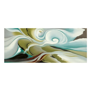 View 1. Thumbnail of Lot 30. GEORGIA O'KEEFFE | NATURE FORMS - GASPÉ.