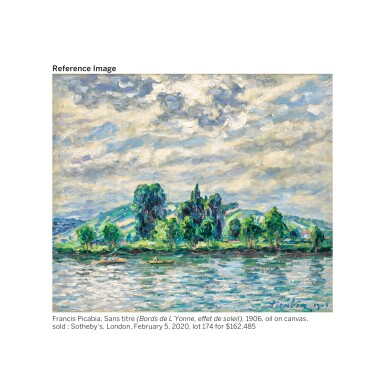 View 6. Thumbnail of Lot 3. FRANCIS PICABIA   EFFET D'AUTOMNE DANS L'YVONNE.