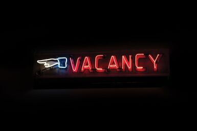 Vacancy Double-Sided Neon Sign