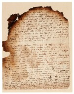 NEWTON | Autograph manuscript notes on the Great Pyramid of Egypt, c. 1680s