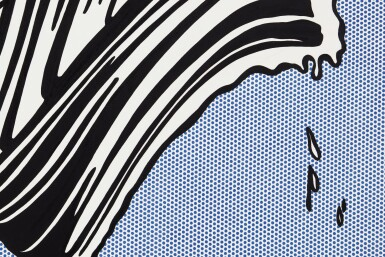 ROY LICHTENSTEIN | WHITE BRUSHSTROKE I