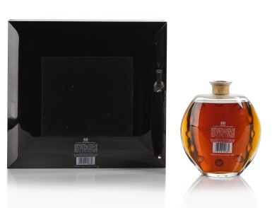 View 2. Thumbnail of Lot 26. The Macallan 60 Year Old in Lalique, 6 Pillars, Fourth Edition, 53.2 abv NV .