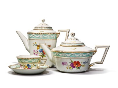 View 2. Thumbnail of Lot 208. A BERLIN (K.P.M) TEA AND COFFEE SERVICE, 20TH CENTURY.