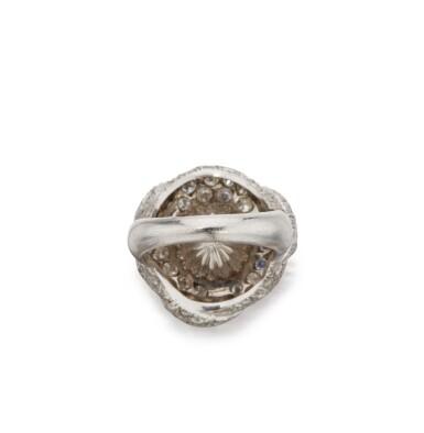 CULTURED PEARL AND DIAMOND RING, DAVID WEBB