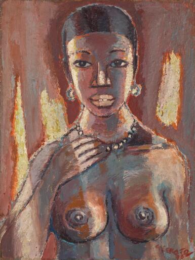 GERARD SEKOTO | PORTRAIT OF A WOMAN