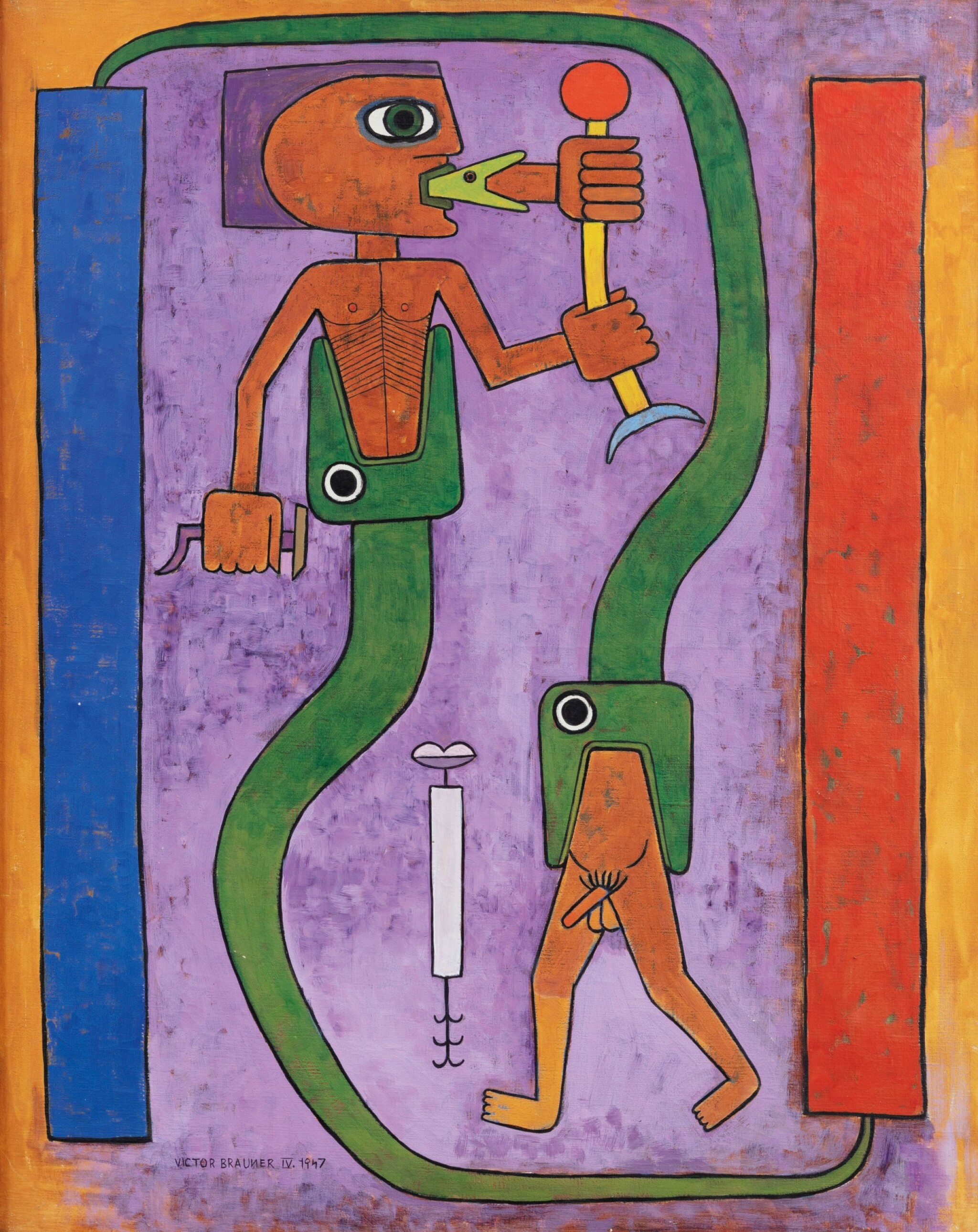 View full screen - View 1 of Lot 22. Le Codex du Poète, Mythologie du Poète, Première Naissance     .
