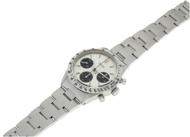 View 6. Thumbnail of Lot 5. ROLEX | REFERENCE 6262 DAYTONA  A STAINLESS STEEL CHRONOGRAPH WRISTWATCH WITH BRACELET, CIRCA 1971.