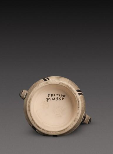 View 5. Thumbnail of Lot 12. Vase deux anses hautes (A. R. 213).