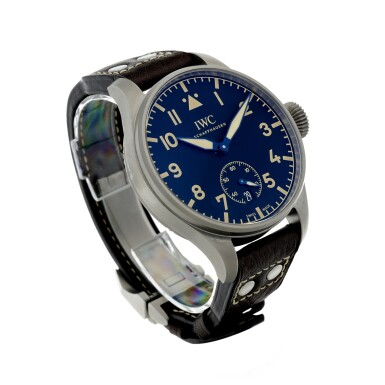 View 3. Thumbnail of Lot 90. IWC | REFERENCE IW510301 BIG PILOT HERITAGE 48 A LIMITED EDITION TITANIUM WRISTWATCH WITH DATE, CIRCA 2016.