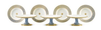 View 9. Thumbnail of Lot 82. A SÈVRES FOND AGATE COMPOSITE PART DESSERT SERVICE, VARIOUS DATES, PREDOMINANTLY 1833-1859.