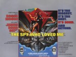 The Spy Who Loved Me (1977) poster, British