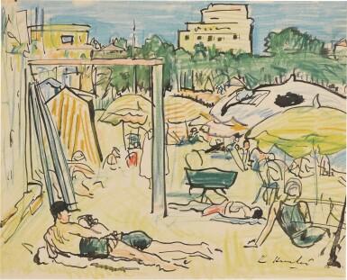 View 1. Thumbnail of Lot 4. Plage à Juan-les-Pins.