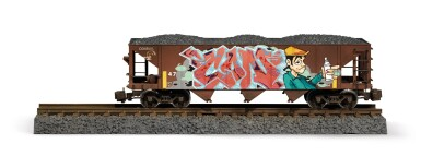 View 14. Thumbnail of Lot 5. TIM CONLON | Five B-Boy G Scale Trains, 2020..