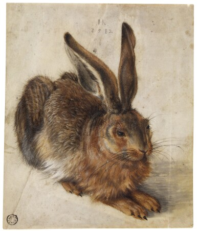 View 1. Thumbnail of Lot 21. A Hare.