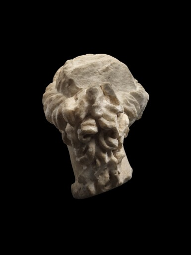 View 3. Thumbnail of Lot 40. A Roman Marble Head of Aphrodite or a Muse, circa 1st Century A.D..
