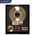 "RIAA Gold Sales Award presented to Michael Diamond for the Beastie Boys 1989 album ""Paul's Boutique"""