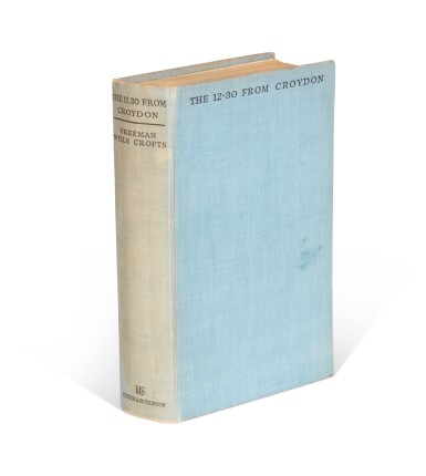 View 2. Thumbnail of Lot 80. Freeman Wills Crofts | The 12.30 from Croydon, 1934, inscribed to the author.