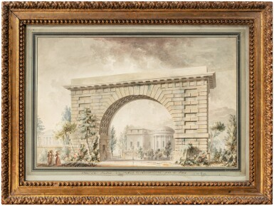 View 2. Thumbnail of Lot 69. The entrance of Hôtel Thellusson.
