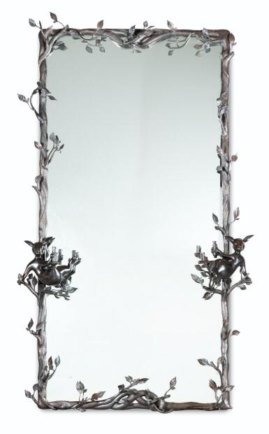 View 1. Thumbnail of Lot 47. Unique Saint-Calais mirror, 2014.