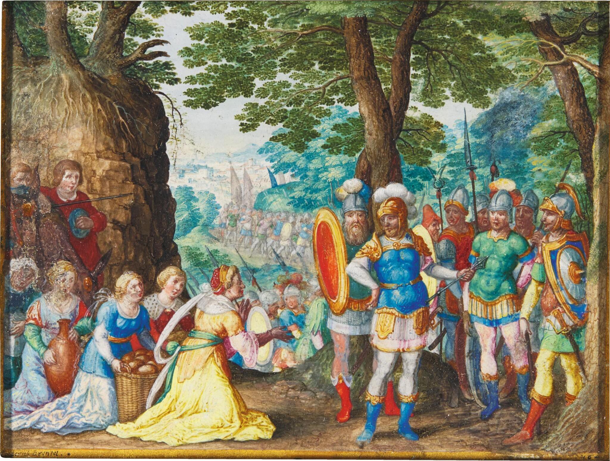 FRIEDRICH BRENTEL | ABIGAIL BEFORE KING DAVID