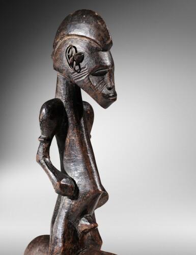 View 3. Thumbnail of Lot 61. Senufo Equestrian Figure, Côte d'Ivoire.
