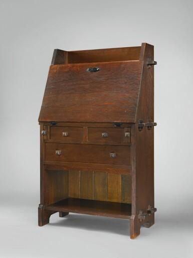 View 1. Thumbnail of Lot 319. A Rare Writing Desk, Model No. 521.