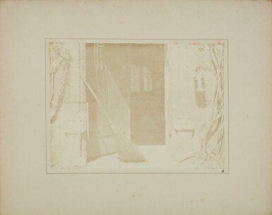 View 2. Thumbnail of Lot 11. William Henry Fox Talbot's Gifts to his Sister: Horatia Gaisford's Collection of Photographs and Ephemera.