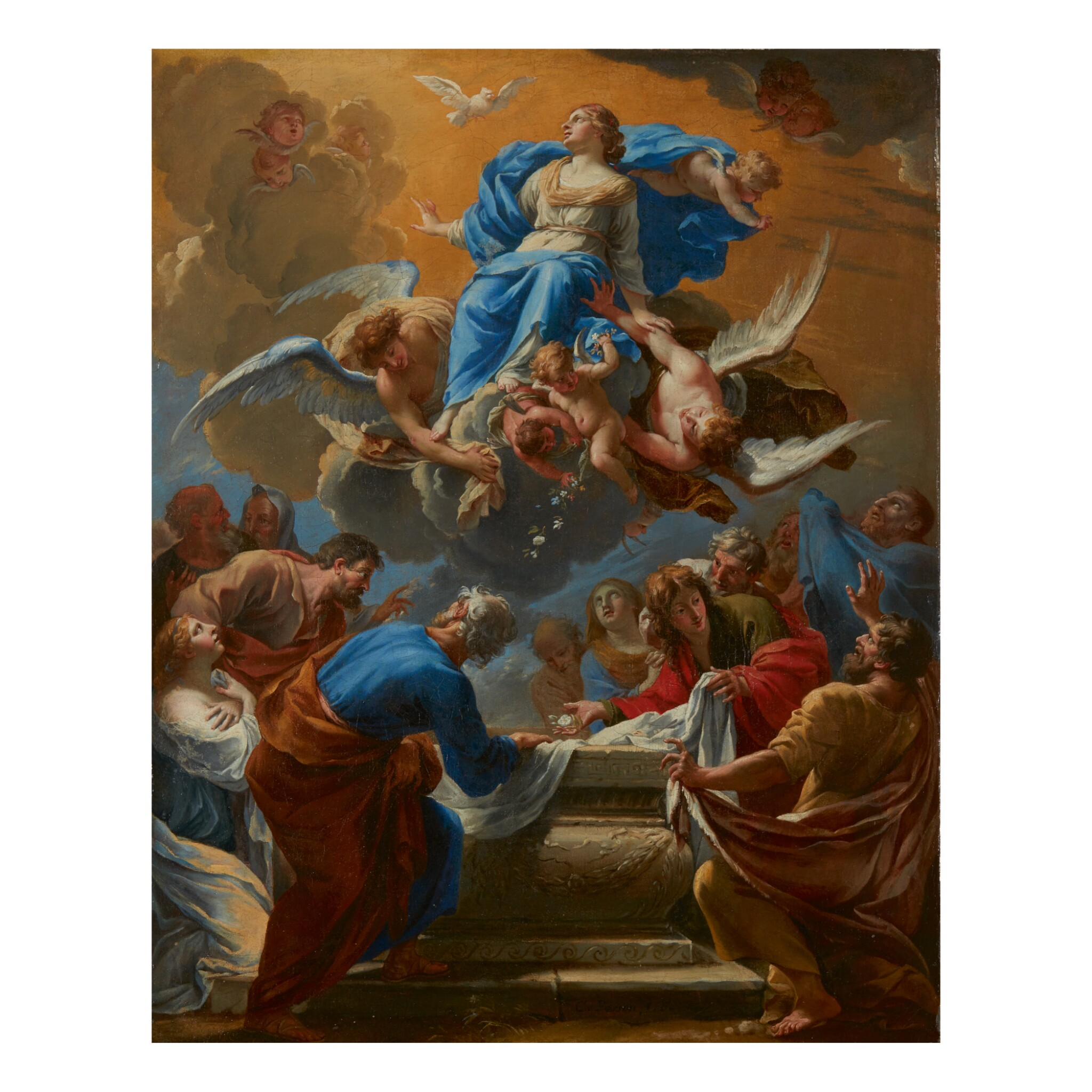 View full screen - View 1 of Lot 124. CHARLES POERSON | ASSUMPTION OF THE VIRGIN.