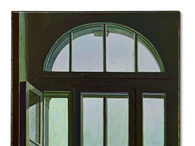 View 4. Thumbnail of Lot 594. LIU YE 劉野   RED ROOF 紅屋頂.