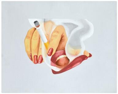 TOM WESSELMANN | SMOKER STUDY (FOR SMOKER #17)