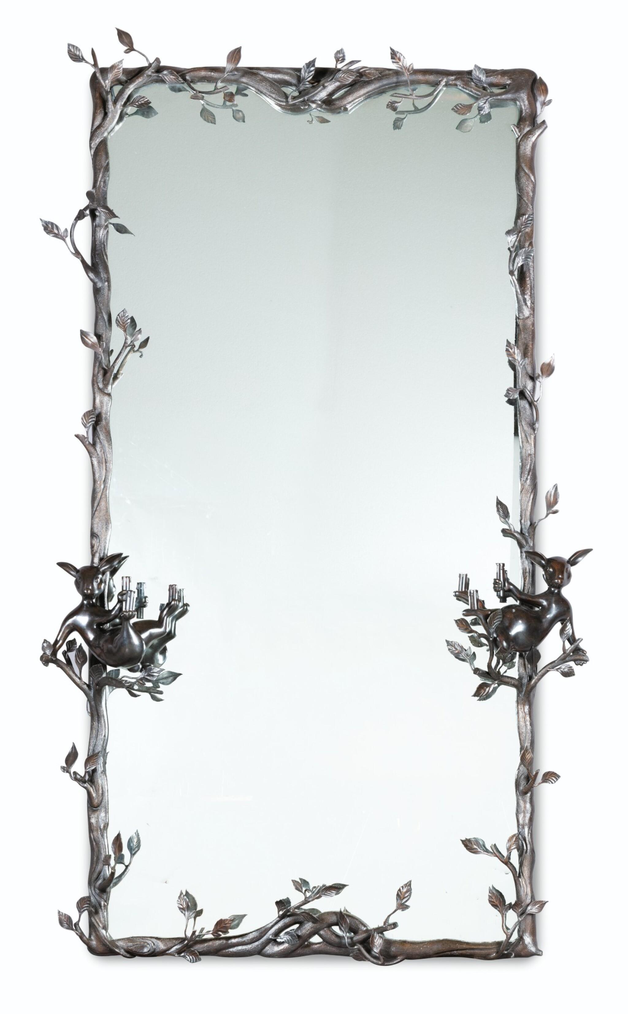 View full screen - View 1 of Lot 47. Unique Saint-Calais mirror, 2014.