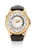 PATEK PHILIPPE | REFERENCE 5130, A BRAND NEW PINK GOLD WORLD TIME WRISTWATCH, CIRCA 2006