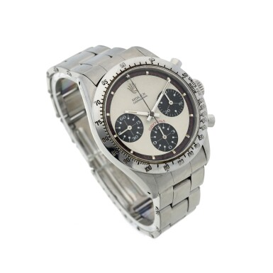 View 3. Thumbnail of Lot 279. Reference 6239 'Paul Newman' Daytona  A stainless steel chronograph wristwatch, Circa 1968.