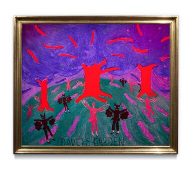 View 3. Thumbnail of Lot 217. Ravel's Garden with Night Glow.