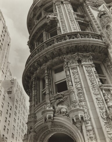 View 1. Thumbnail of Lot 61. 'Façade: Alwyn Court, 174-182 West 58th Street and 911-917 Seventh Avenue, Manhattan'.