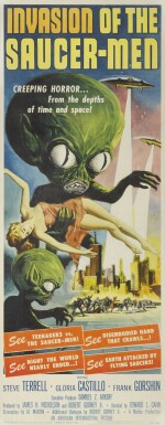 Lot 97 : Invasion of the Saucer Men (1957) poster, US
