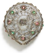 AN OTTOMAN JADE AND GEM-SET BOX, POSSIBLY FOR A QUR'AN, TURKEY, 17TH CENTURY