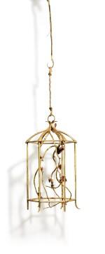 CLAUDE LALANNE 克洛德·萊蘭 | LANTERN WITH BUTTERFLIES 蝴蝶吊燈