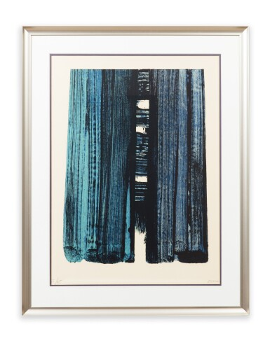 View 2. Thumbnail of Lot 529.  PIERRE SOULAGES | LITHOGRAPHIE NO. 42.